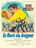"Movie Posters:Elvis Presley, Jailhouse Rock (MGM, 1957). French Grande (47"" X 62.5"") RogerSoubie Artwork.. ..."