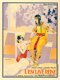 "Moon of Israel (Union-Artistic Films, 1924). French Grande (46.75"" X 62.5"") Armand Rapeno Artwork"