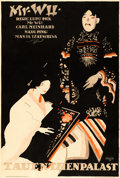 "Movie Posters:Foreign, Mr. Wu (Rex Film, 1919). German Poster (37"" X 55"") Paul ScheurichArtwork.. ..."