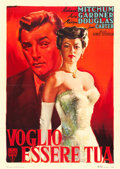 "Movie Posters:Drama, My Forbidden Past (RKO, 1951). Italian 2 - Fogli (38"" X 53.75"") Giorgio Olivetti Artwork.. ..."