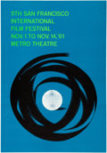 "Movie Posters:Miscellaneous, 5th San Francisco International Film Festival (1961). Poster(28.75"" X 41.25"") Saul Bass Artwork.. ..."