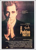 "Movie Posters:Crime, The Godfather Part III (UIP, 1990). Italian 2 - Fogli (39.25"" X 55""). Crime.. ..."