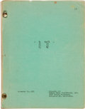 "Movie/TV Memorabilia:Documents, A Script from ""It! The Terror Beyond Space.""..."