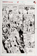 Original Comic Art:Panel Pages, Jim Valentino and Steve Montano Guardians of the Galaxy #19Story Page 11 Original Art (Marvel, 1991)....