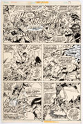 Original Comic Art:Panel Pages, Keith Giffen The Defenders #50 Page 15 Original Art (Marvel,1977)....