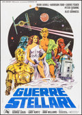"Movie Posters:Science Fiction, Star Wars (20th Century Fox, 1978). Italian 2 - Fogli (39"" X 55"").Science Fiction.. ..."