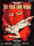 "Movie Posters:Horror, Eyes Without a Face (Lux Compagnie Cinématographique de France, 1960). French Grande (45.5"" X 62""). Horror.. ..."