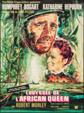 "Movie Posters:Adventure, The African Queen (Rank, R-1965). French Grande (47"" X 63"").Adventure.. ..."