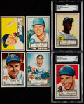 Baseball Cards:Lots, 1952 Topps Baseball Card Collection (66). ...
