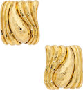 Estate Jewelry:Earrings, Gold Earrings, Henry Dunay . ...