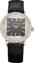Estate Jewelry:Watches, Longines Lady's Diamond, White Gold Watch. ... (Total: 0 Items)