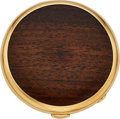 Estate Jewelry:Other, Wood, Gold Compact. ... (Total: 0 Items)