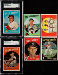 Baseball Cards:Lots, 1959 Topps Baseball Partial Set (161) Plus Extras. ...
