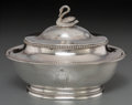 Silver Holloware, American, A Shreve, Stanwood & Co. Silver Covered Butter Dish, circa1860-1869. Marks: SHREVE, STANWOOD & CO, BOSTON, 925STERLING...