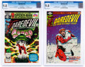 Modern Age (1980-Present):Superhero, Daredevil #177 and 182 CGC-Graded Group (Marvel, 1981-82) CGC NM/MT9.8 White pages.... (Total: 2 Comic Books)