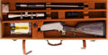 Long Guns:Lever Action, Cased Browning BLR LTWT 81 Lever Action Rifle with Telescopic Sight.... (Total: 2 Items)