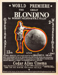 Music Memorabilia:Posters, Grateful Dead/The Great Blondino Show Poster (1967)...