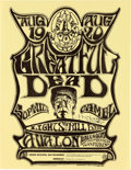 Music Memorabilia:Posters, Grateful Dead Avalon Ballroom Concert Handbill FD-22 Signed by theArtist (Family Dog, 1966)....