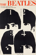 Music Memorabilia:Posters, The Beatles - Polish Poster For A Hard Day's Night (UnitedArtists, 1964)....
