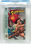 Modern Age (1980-Present):Superhero, The Death of Superman Trade Paperback #nn (DC, 1993) CGC NM/MT 9.8 White pages....