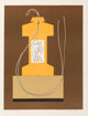 Man Ray (American, 1890-1976) Monument (two works), 1968 Lithograph in colors on BFK Rives, each 22-3/4 x 17-3/8 inch...