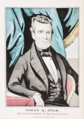 Prints & Multiples, American School (19th Century). James K. Polk. Nominated for Eleventh President of the United States, 1845. Lithograph w...