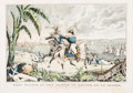 Prints & Multiples, American School (19th Century). Genl. Taylor At The Battle of Resaca De La Palma. Capt. May receiving his orders to Charge...