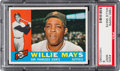 Baseball Cards:Singles (1960-1969), 1960 Topps Willie Mays #200 PSA Mint 9....