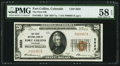 National Bank Notes:Colorado, Fort Collins, CO - $20 1929 Ty. 1 The First NB Ch. # 2622. ...