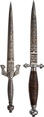 Lot of Two Spanish 19th Century Daggers