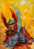 Original Comic Art:Miscellaneous, Kelly Freas In the Kingdom of the Beasts Cover Color Study Original Art (Ace Books, 1971)....