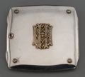 Silver Holloware, Continental:Holloware, An Austrian Partial-Gilt Silver and Hardstone-Mounted CigaretteCase, circa 1900. Marks: 900, (Diana), GAS,(crescen...