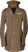 Militaria:Uniforms, WWI Royal Flying Corps Uniform Identified to Second Lieutenant William Maurice Montgomery McNeill-Hamilton.... (Total: 3 )