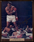 Boxing Collectibles:Autographs, Muhammad Ali Signed Oversized Photograph. ...