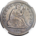 Seated Quarters, 1859-S 25C XF45 NGC. Briggs 1-A....