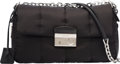 "Luxury Accessories:Bags, Prada Black Tessuto Nylon Shoulder Bag. Excellent Condition.11"" Width x 6"" Height x 3"" Depth. ..."