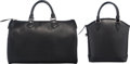 "Luxury Accessories:Bags, Louis Vuitton Set of Two; Black Epi Leather Lockit PM & Speedy35 Bags. Very Good to Excellent Condition. 14"" Width x... (Total: 2 Items)"