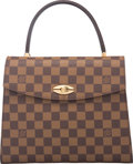 "Luxury Accessories:Bags, Louis Vuitton Damier Ebene Canvas Malesherbes Bag. ExcellentCondition. 10"" Width x 8"" Height x 2.5"" Depth . ..."
