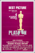 "Movie Posters:Academy Award Winners, Platoon & Other Lot (Orion, 1986). One Sheets (2) (27"" X 41"").Academy Award Style. War.. ... (Total: 2 Items)"