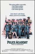 "Movie Posters:Comedy, Police Academy (Warner Brothers, 1984). One Sheet (27"" X 41"").Comedy.. ..."