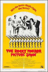 "The Rocky Horror Picture Show (20th Century Fox, 1975). One Sheet (27"" X 41"") Style B & Lobby Cards (5..."