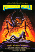 """Movie Posters:Science Fiction, Forbidden World (New World, 1982). One Sheet (26.5"""" X 39.5"""").Science Fiction.. ..."""