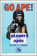 "Movie Posters:Science Fiction, Go Ape! (20th Century Fox, 1974). Television One Sheet (27"" X 41"").Science Fiction.. ..."