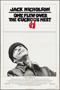 "Movie Posters:Academy Award Winners, One Flew Over the Cuckoo's Nest (United Artists, 1975). One Sheet(27"" X 41""). Pre-Academy Award Style. Drama.. ..."