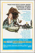 "Movie Posters:Mystery, The Private Life of Sherlock Holmes (United Artists, 1970). One Sheet (27"" X 41"") Style A. Mystery.. ..."