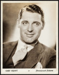"Movie Posters:Miscellaneous, Cary Grant & Other Lot (Paramount, 1930s). Portrait Photos (2)(11"" X 14""). Miscellaneous.. ... (Total: 2 Items)"
