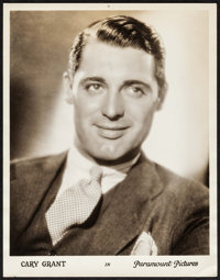 """Cary Grant & Other Lot (Paramount, 1930s). Portrait Photos (2) (11"""" X 14""""). Miscellaneous. ... (Total:..."""