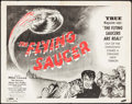 "Movie Posters:Science Fiction, The Flying Saucer (Film Classics, Inc., 1950). Half Sheet (22"" X28""). Science Fiction.. ..."