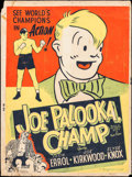 "Movie Posters:Sports, Joe Palooka, Champ (Monogram, 1946). Poster (30"" X 40""). Sports.. ..."