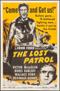 """Movie Posters:War, The Lost Patrol & Others Lot (RKO, R-1954). One Sheets (3) (27""""X 41""""). War.. ... (Total: 3 Items)"""